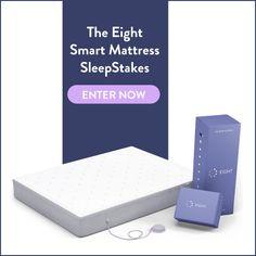 Ends 5-11  http://swee.ps/deHxDPCUm  Enter for a chance to win a Smart Mattress from @eightsleep! #EightSleepStakes