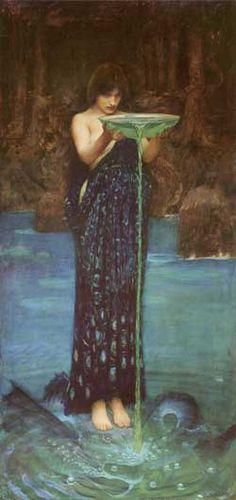 Circe Invidiosa, John William Waterhouse