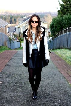 A parting of ways. Bomber Jacket, Chic, Blog, Jackets, Style, Fashion, Shabby Chic, Down Jackets, Swag