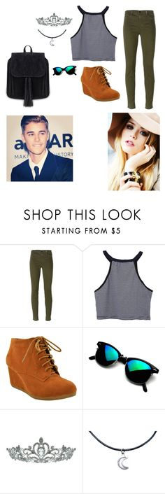"""Alisha Gold -walk in the park-"" by oneloveorieo ❤ liked on Polyvore featuring Justin Bieber, J Brand and Kate Marie"