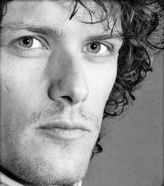 Jamie Fraser - The King of men (Black and white)  - Absolutely perfect....