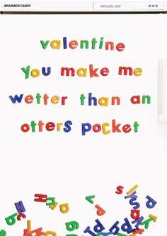 Wetter Than an Otter's Pocket Valentines Day Card Funny, Naughty Valentines, Valentine's Day Greeting Cards, Birthday Greeting Cards, Funny Comedy, Retro Humor, Boyfriend Girlfriend, Love Cards, Otters