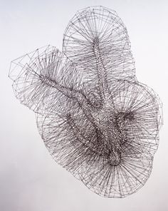 Antony Gormley Wire Sculptures