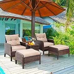 Wicker Patio Chairs | Find Best Patio Chairs Wicker Patio Chairs, Wicker Lounge Chair, Rattan, Balcony Chairs, Wood Patio, Chair Cushions, Small Patio Furniture, Outdoor Wicker Furniture, Furniture Ideas