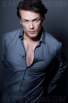 Sam Heughan...will be the new Jamie Frazer...delish!