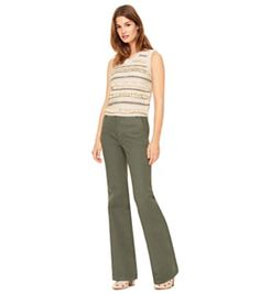 Tory Burch High-waist Wide-leg Trouser