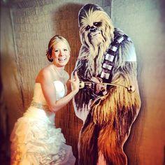 Oh yes. This is happening! Surprise @flesniak #mzlwedding #naples #wedding @bashbooths #chewbacca - @weddingtidbits- #webstagram