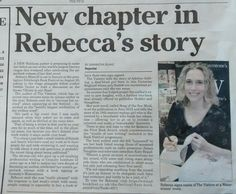 Cleethorpes Chronicle feature about the Waterstones Grimsby signing and the First Book Award.