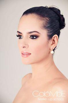 Maquillaje de novia por alumna Michelle Rangel-Curso de maquillaje profesional.