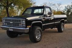 GM Trucks — 1986 Chevy Truck.