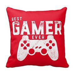 "18"" x 18"" Best Gamer Ever for Video Games Geek Decorative... https://www.amazon.com/dp/B019XNKE8M/ref=cm_sw_r_pi_dp_x_sbG5xb09BT9KC"