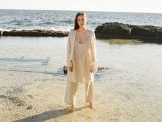 Cover Up, White Dress, Dresses, Fashion, Vestidos, Moda, White Dress Outfit, Fashion Styles, Dress