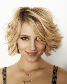 Part of me wants to chop my hair off, this is cute!