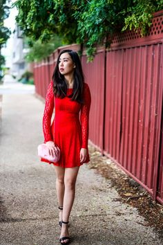 Red Lace Valentine. Red lace Dress. Red Dress.