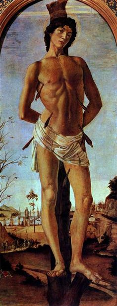 Paintings by Genre: religious painting - Sandro Botticelli - WikiArt.org