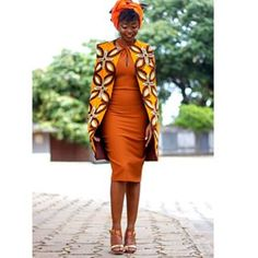 Happy Stars Shine The Brightest -{ Maybeanothername }🖤×🖤 African Cape Jacket. A beautiful cape jacket made from Ankara print fabric. It hangs on your shoulder and needs no fastenings. African Dresses For Women, African Print Dresses, African Attire, African Wear, African Women, African Prints, African Style, African Fabric, African Inspired Fashion