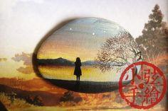 【一个人的旅行】-【小弦石头铺】 奔波于前途之事告一段路之后 整个人像是被抛到薄雾弥漫的虚无之中 脑海里只想着一片尘世之外的空阔的风景 与世无争的冷清…