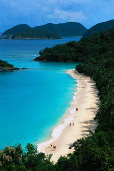 Trunk Bay, St. John, Isole Vergini Americane