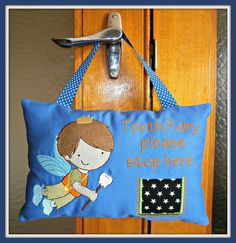 Tooth fairy pillow , Cute Embroidery Designs Cute Embroidery, Embroidery Patterns, Brother Embroidery Machine, Tooth Fairy Pillow, Baby Crafts, Reusable Tote Bags, Pillows, Sewing, Free