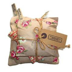 Lavender pillows in beige and pink set of three £3.95 #craftfest #handmadebot