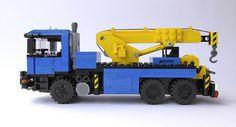 Lego MAN Truck Lego Tractor, Lego Truck, Tow Truck, Lego Crane, Lego Baby, Lego Fire, Lego Construction, Cool Lego Creations, Lego Models
