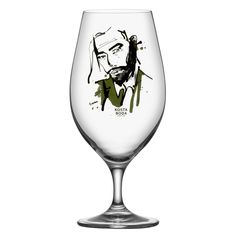 All About You, Ölglas 2-pack, Want Him, Kosta Boda