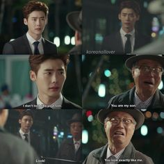 Lee Jong Suk why u so attractive  Pinocchio. This was just the sweetest bestest makeover ever