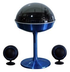 Electrohome Apollo 711 Stero System 1970s Space Age Bubble Stereo With Tulip Base