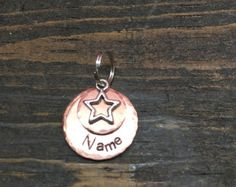 Browse unique items from PeartreeTags on Etsy, a global marketplace of handmade, vintage and creative goods. Cat Tags, Pet Id Tags, Handmade Tags, Bones, Etsy Seller, Charlotte's Web, Personalized Items, Dog, Pets