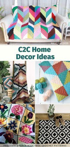 Home Decor Ideas Free Crochet Patterns Crochet Kids Hats, Crochet Baby Booties, Baby Blanket Crochet, Free Crochet, Crochet Blankets, Simple Crochet, Crochet Afghans, Double Crochet, Crochet Lace