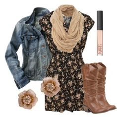 **Floral Shirt Dress by Oh My Love - Polyvore