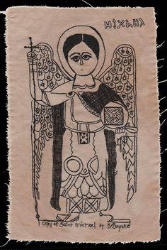 Saint Michael, the Archangel.