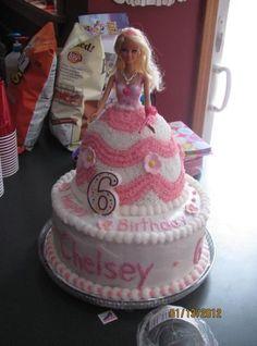 37 ideas of best birthday cake Barbie 2019 Barbie Birthday Cake, Barbie Cake, Birthday Cake Girls, Barbie Cupcakes, Barbie Party, Birthday Cakes, Cake Mix Cookie Recipes, Dress Cake, Wedding Cake Rustic