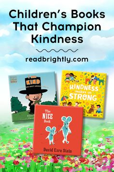 A little kindness goes a long way. These board books and picture books celebrate kindness and help young kids remember how and why they should be kind. Books About Kindness, Small Acts Of Kindness, Toddler Books, Childrens Books, The Invisible Boy, Wordless Picture Books, Christian Robinson, Horton Hears A Who, New Students