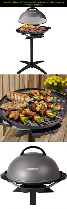 """George Foreman 240"""" Indoor/Outdoor Electric Grill Non-Stick Barbecue BBQ NEW #racing #drone #products #technology #grills #indoor #kit #plans #electric #outdoor #shopping #camera #tech #gadgets #parts #fpv"""