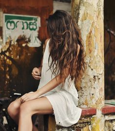Summer goal - let your hair dry naturally; no hot irons or blow dryers! You're hair will become so so healthy!