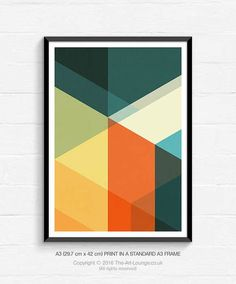 Mid Century Art Mid Century Modern Geometric Art Abstract Art Art Print Abstract Sunrise Dawn Wall Art Graphic Design Modern Abstract Art Poster Difference Between Mid Century And Art Deco Mid Century Modern Art, Mid Century Art, Mid Century Living Room, Mid Century Design, Surf Kunst, Modern Art Movements, Quilt Modernen, Contemporary Abstract Art, Abstract Geometric Art