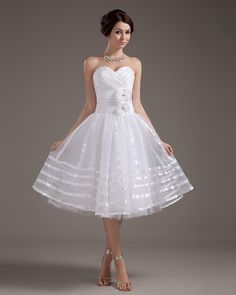Elegant Strapless Short Wedding Dress Read More Http Image1 Nextdressin