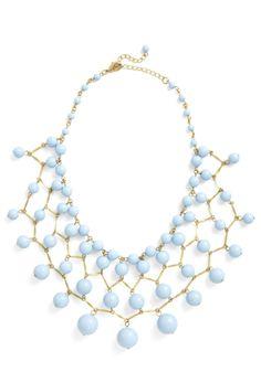 Dress like Emma Pillsbury: bob, bob, baublin' along necklace $29.99 from Modcloth