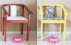 Masso Vita: DIY, Renovando as cadeiras da sala