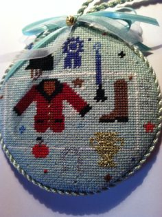 Horse Country Chic    Absolutely love this needlepoint ornament!