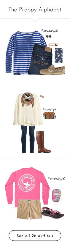 The Preppy Alphabet Sperry Top Sider, Sperrys, Lilly Pulitzer, Preppy, Burberry, Alphabet, J Crew, Kate Spade, Classy