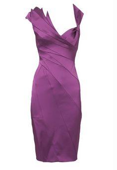 Cocktail Dresses | Karen Millen purple cocktail dress - Loud and proud - brighten up your ...