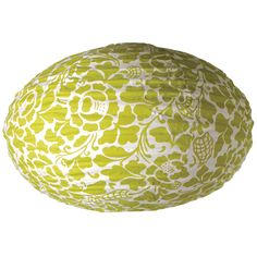 Bali Green oval Lamp Shade