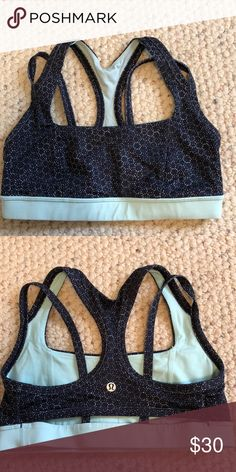 b4ea89c090 Lulu lemon sports bra Lulu lemon patterned sports bra