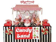 Christmas Candy Land buffet party
