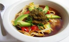 Tortilla Soup....a delight anytime of year. @HousewifeBliss