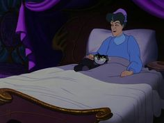 Eleanor Audley as the voice of Lady Tremaine in Cinderella (1950)