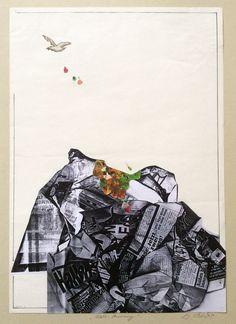 weltanschauung, collage, 1992