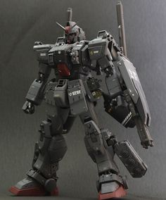 Check out the latest Gunpla Gundam News here. Crazy Robot, Space Warfare, Space Armor, Ground Type, Real Robots, Gunpla Custom, Mecha Anime, Suit Of Armor, Mechanical Design